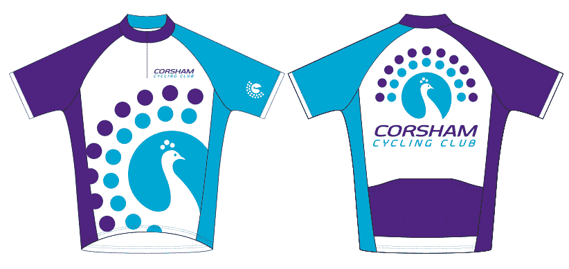 Corsham Cycling Club Jerseys sml new
